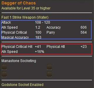 Dagger of Chaos