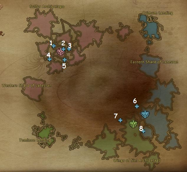 Lower Abyss Artifact Locations