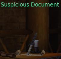 Suspicious Document