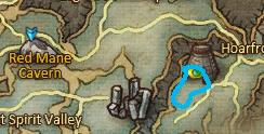 Location of Frostspirits