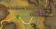 Tolbas Village Location