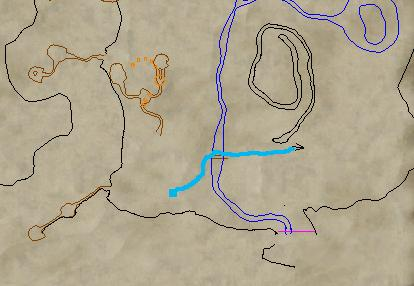 Location of the mesa snakes