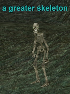 a greater skeleton