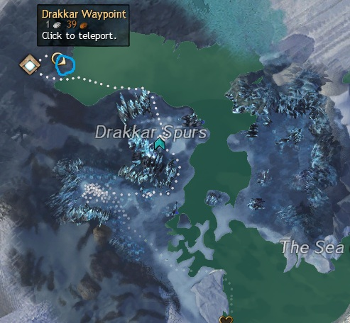 Orichalcum Node at Drakkar Waypoint