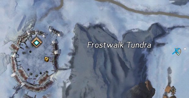 Frostgorge Sound - Orichalcum Ore Spawn Location by Jormag