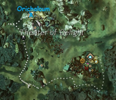Orichalcum Spawn Right in Eastern Malchor's Leap