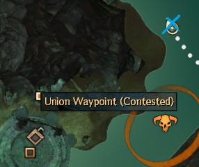 Malchor's Leap - Orichalcum Node to the Northeast of Union Waypoint