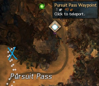 Cursed Shore - Orichalcum by Pursuit's Pass Waypoint