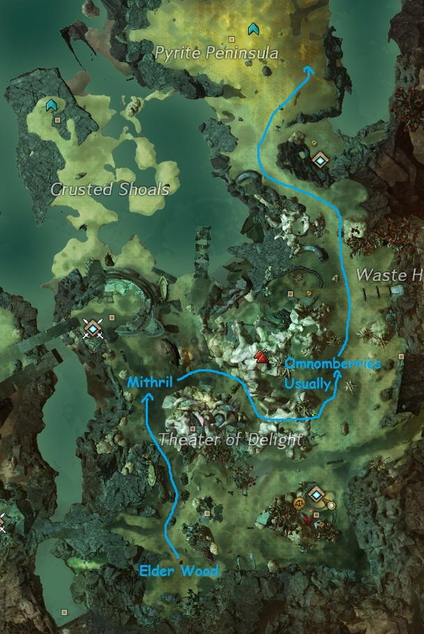 Malchor's Leap Eastern Farming Route