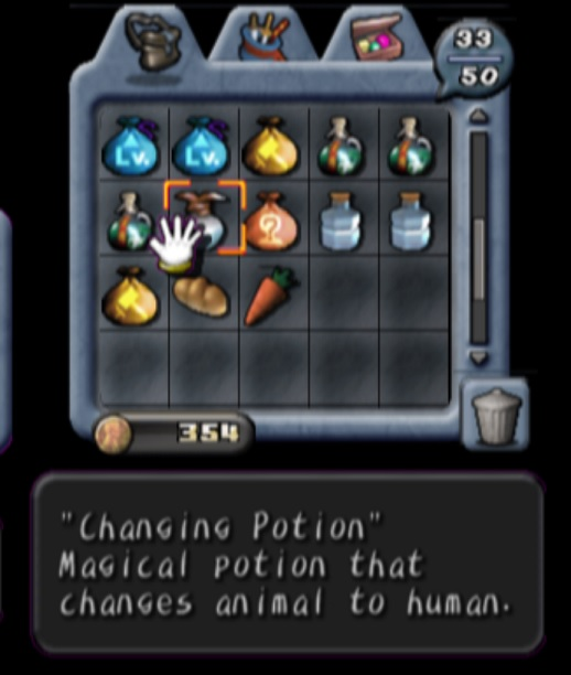 Changing Potion