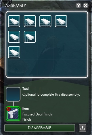 The secret world crafting recipes