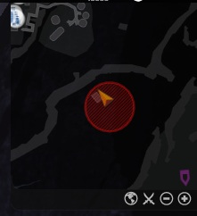 Sentry Gun Parts Location on Mini Map