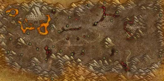 Classic WoW Mining Locations