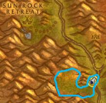 Spider's Silk Farming Location