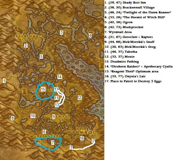 how to get to marsh wow