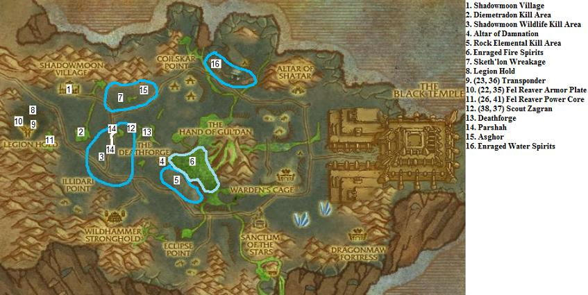 World of warcraft leveling guide shadowmoon valley 69 70