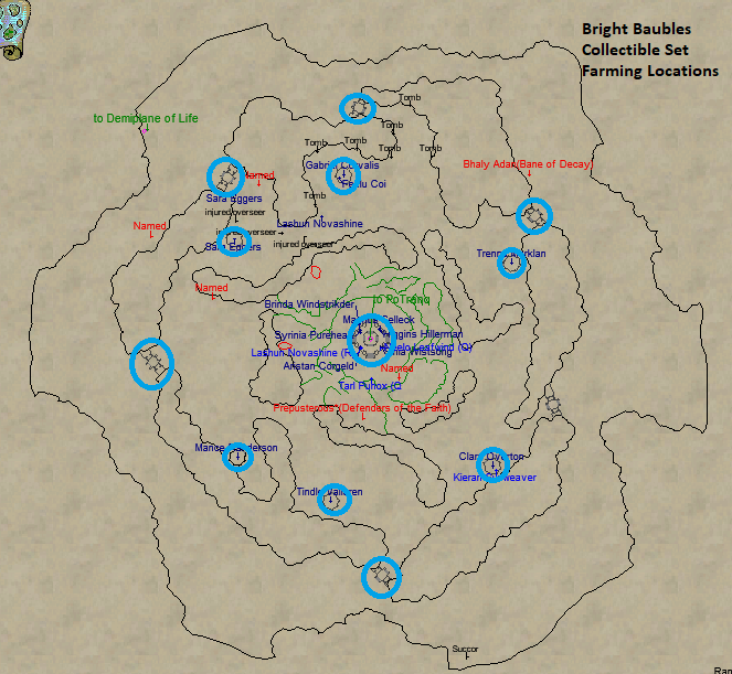 Bright Baubles Farming Locations