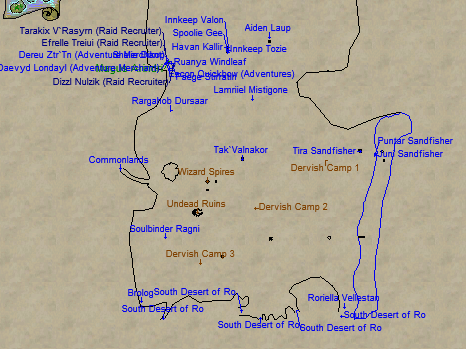 North Ro Map Locations