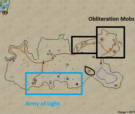 Bloody Kithicor Leveling Locations