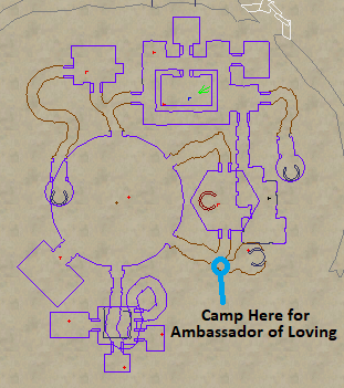 Ambassador of Loving Camp Location