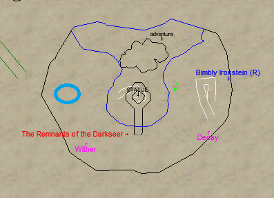 Remnants of the Darkseer Camp Location