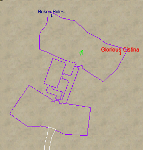 Glorious Cistina Camp Location