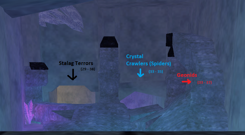 Crystal Caverns - Velious Leveling Guide