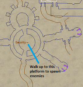 Ironing out the Legion Security Map Location