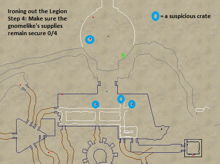 Ironing out the Legion Suspicious Crate Map Locations
