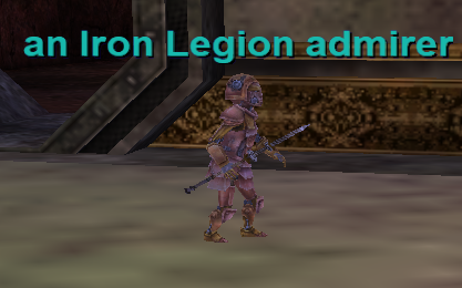 an iron legion admirer