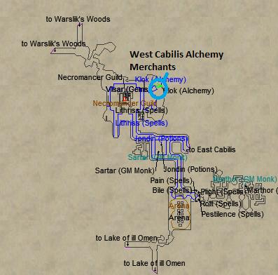 Everquest alchemy recipe