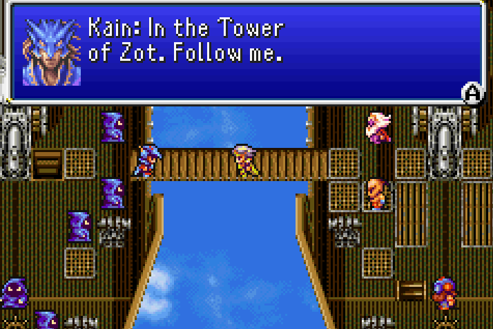 Kain Telling you about Tower of Zot