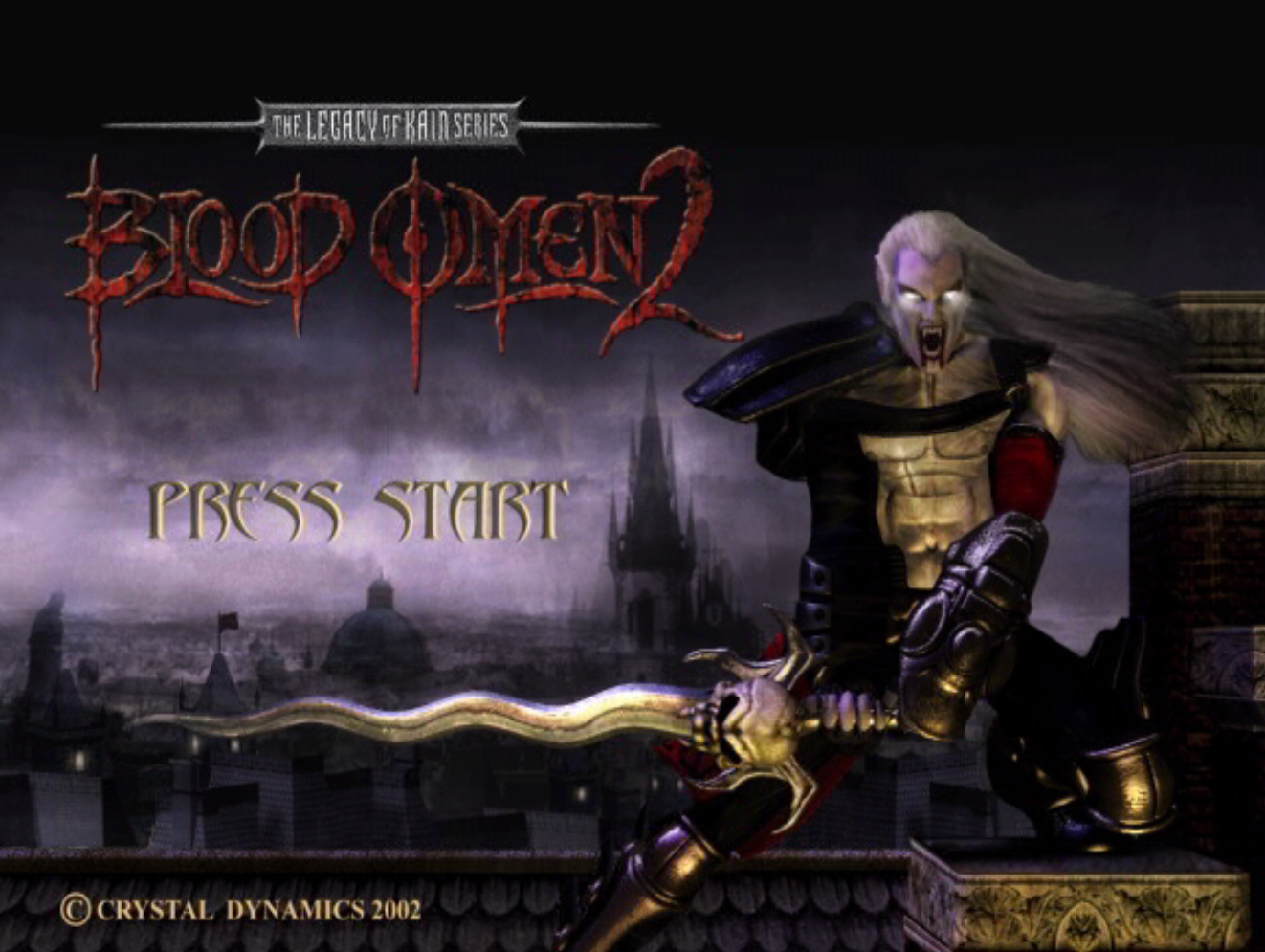 The Legacy of Kain Blood Omen 2 Title Screen