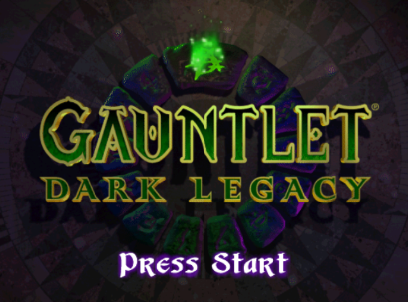 Gauntlet Dark Legacy Title Screen