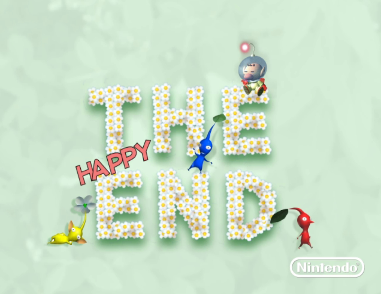 Pikmin The End