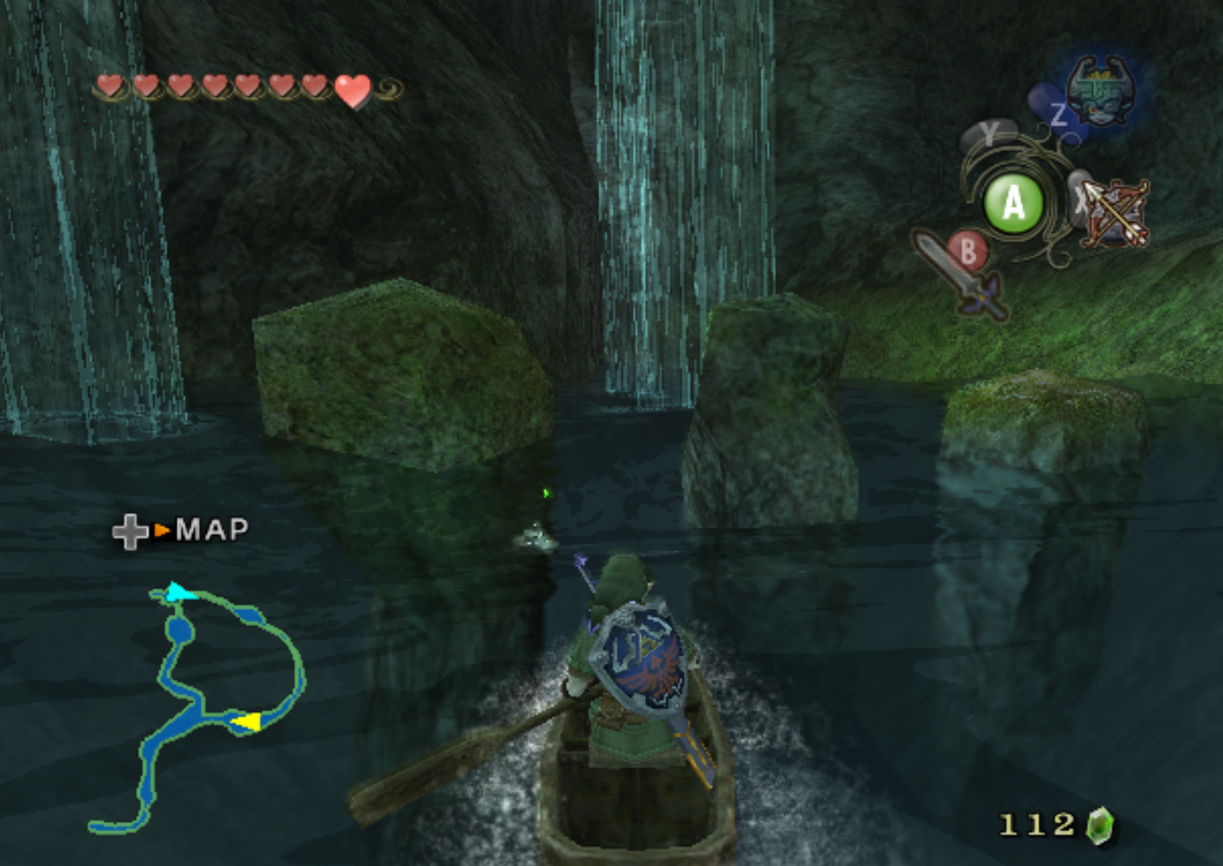 Zoras River Following the Zora for Bomb Bag