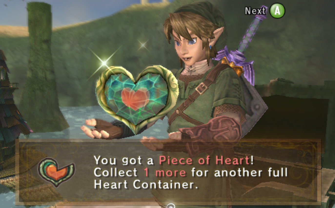 Piece of Heart acquired