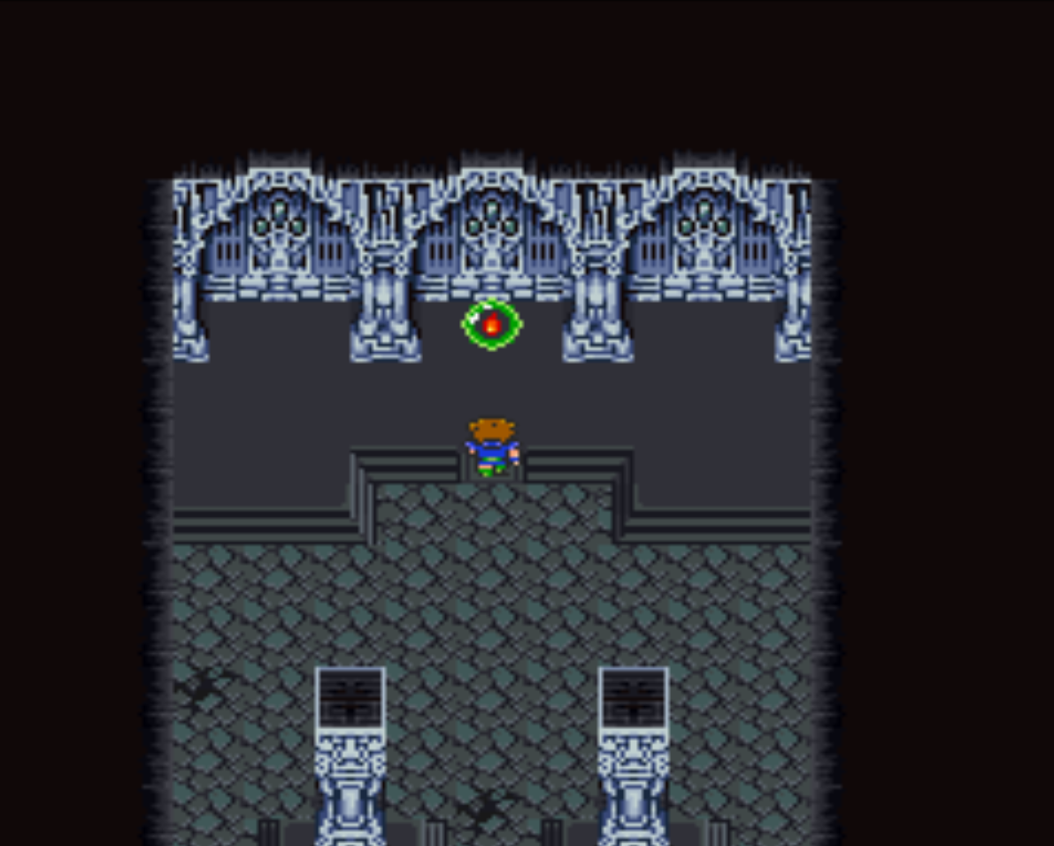 Odin in Castle of Bal Basement