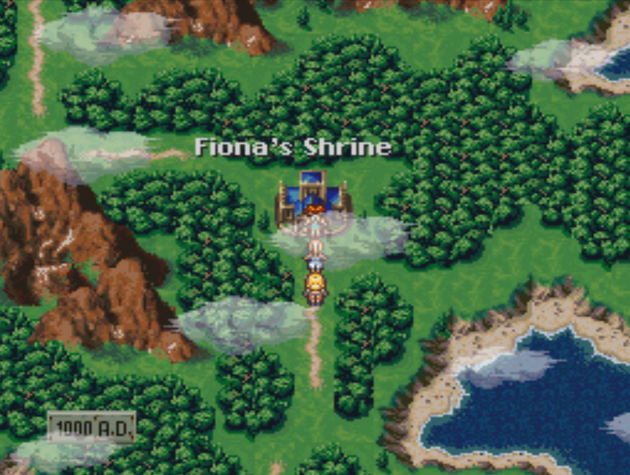 Fionas Shrine Overworld Location