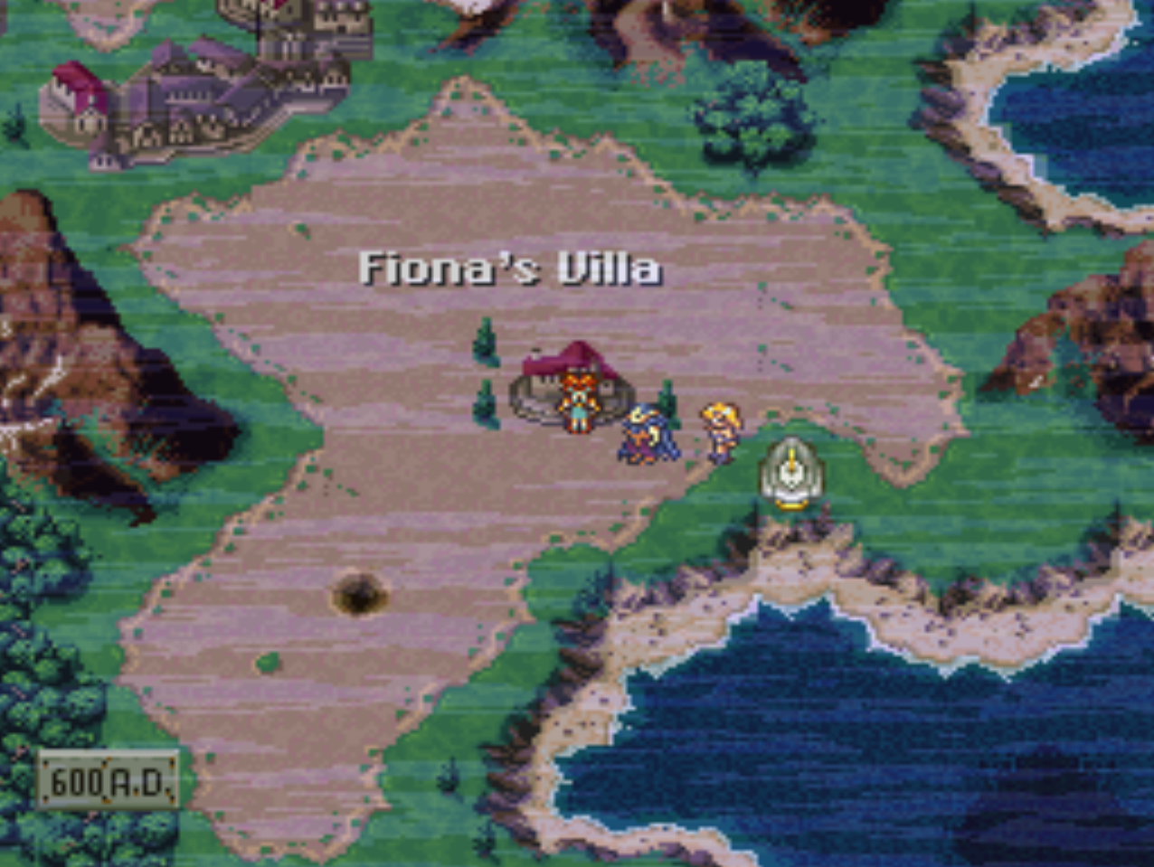 Fionas Villa and Sunken Desert Map Location