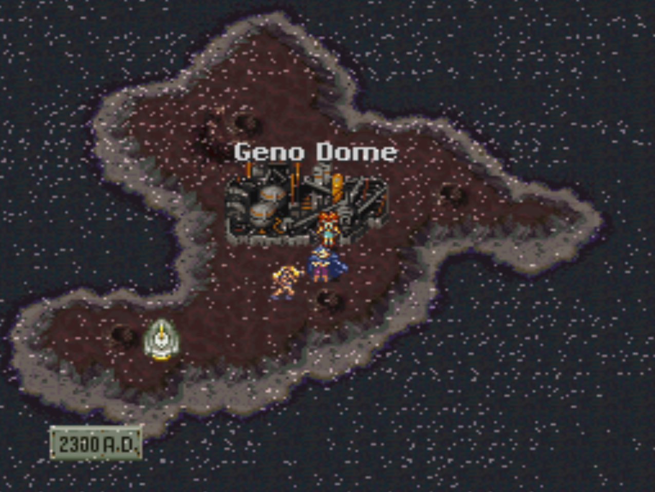 Gen Dome Overworld Map Location