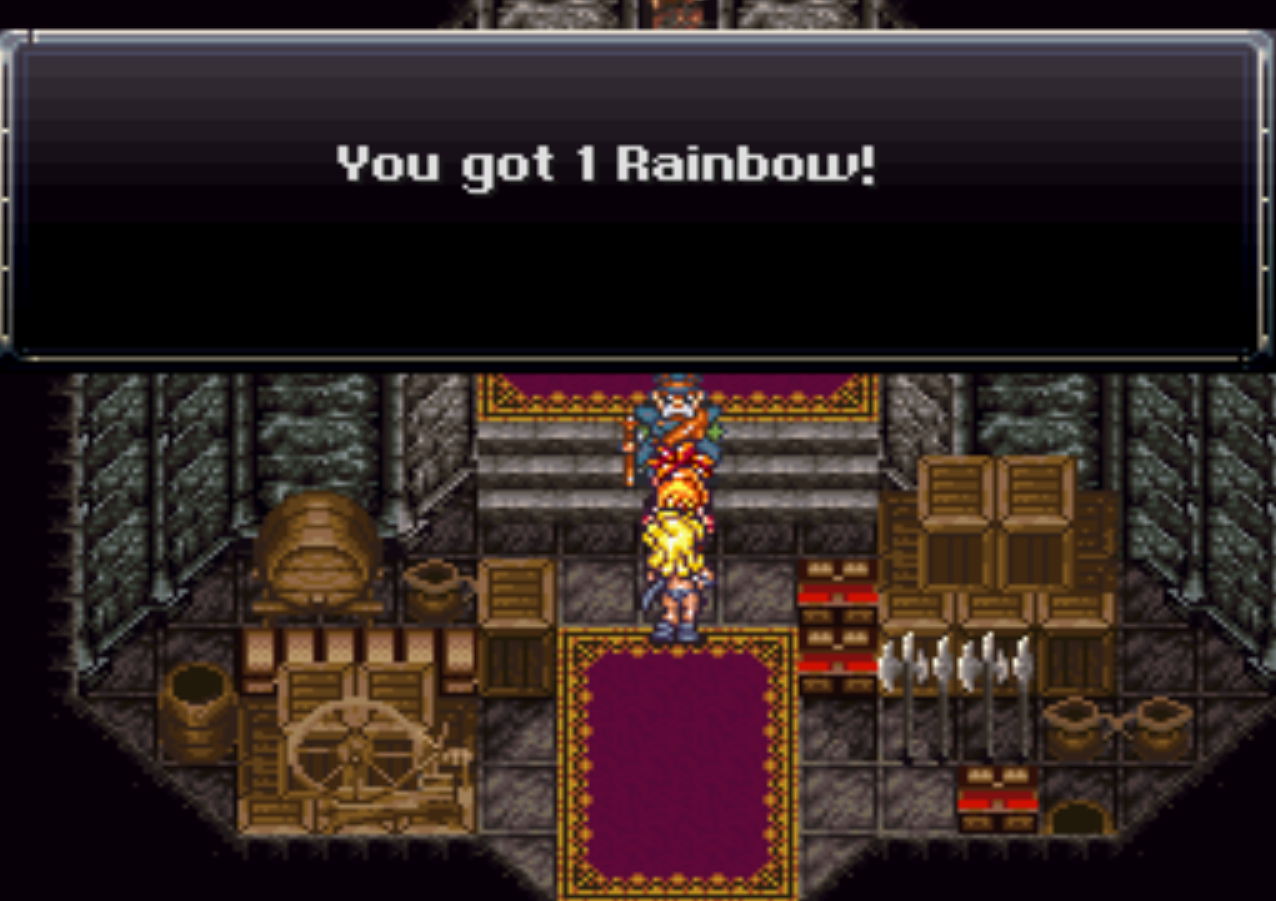 Melchior Gives you Rainbow