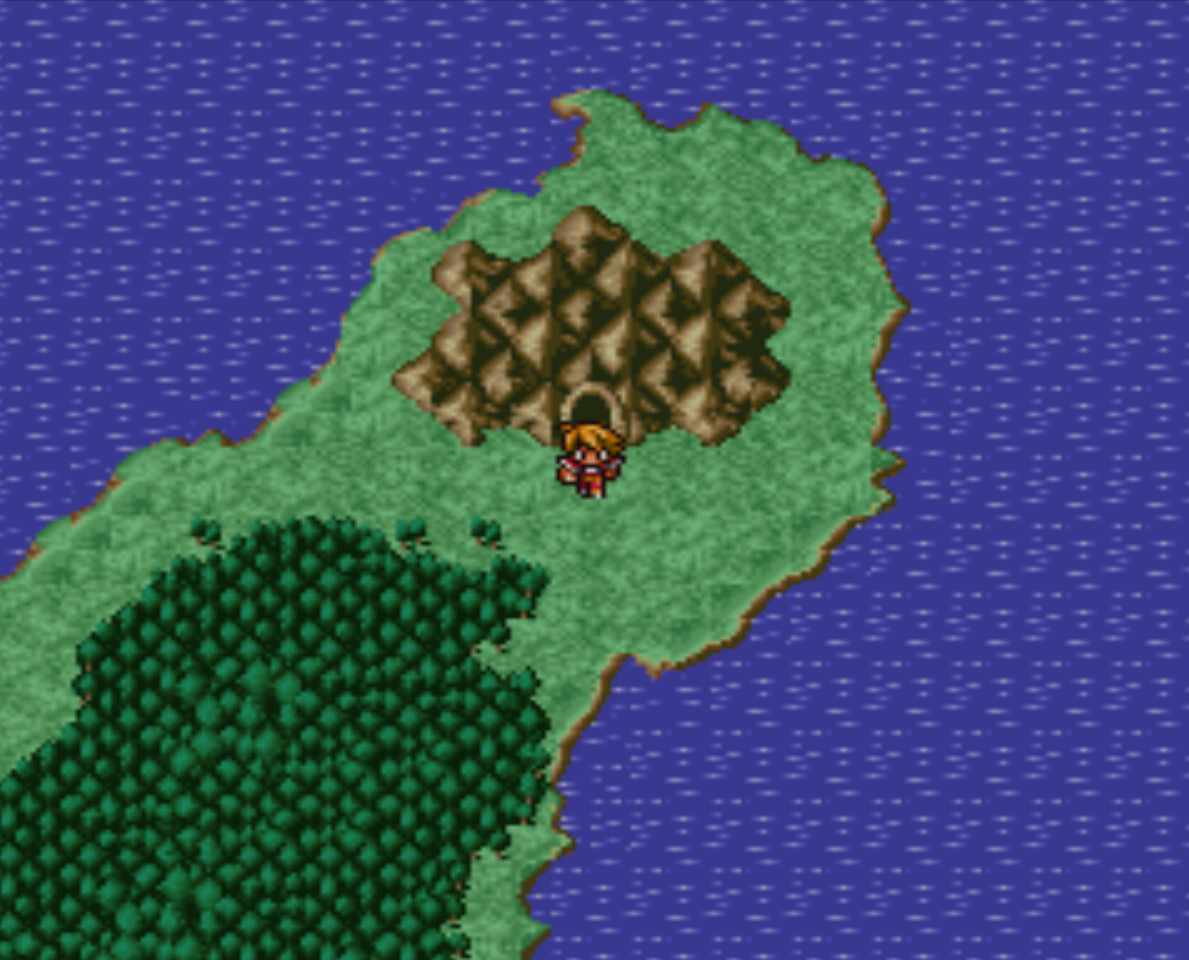 Matoyas Cave Overworld Location