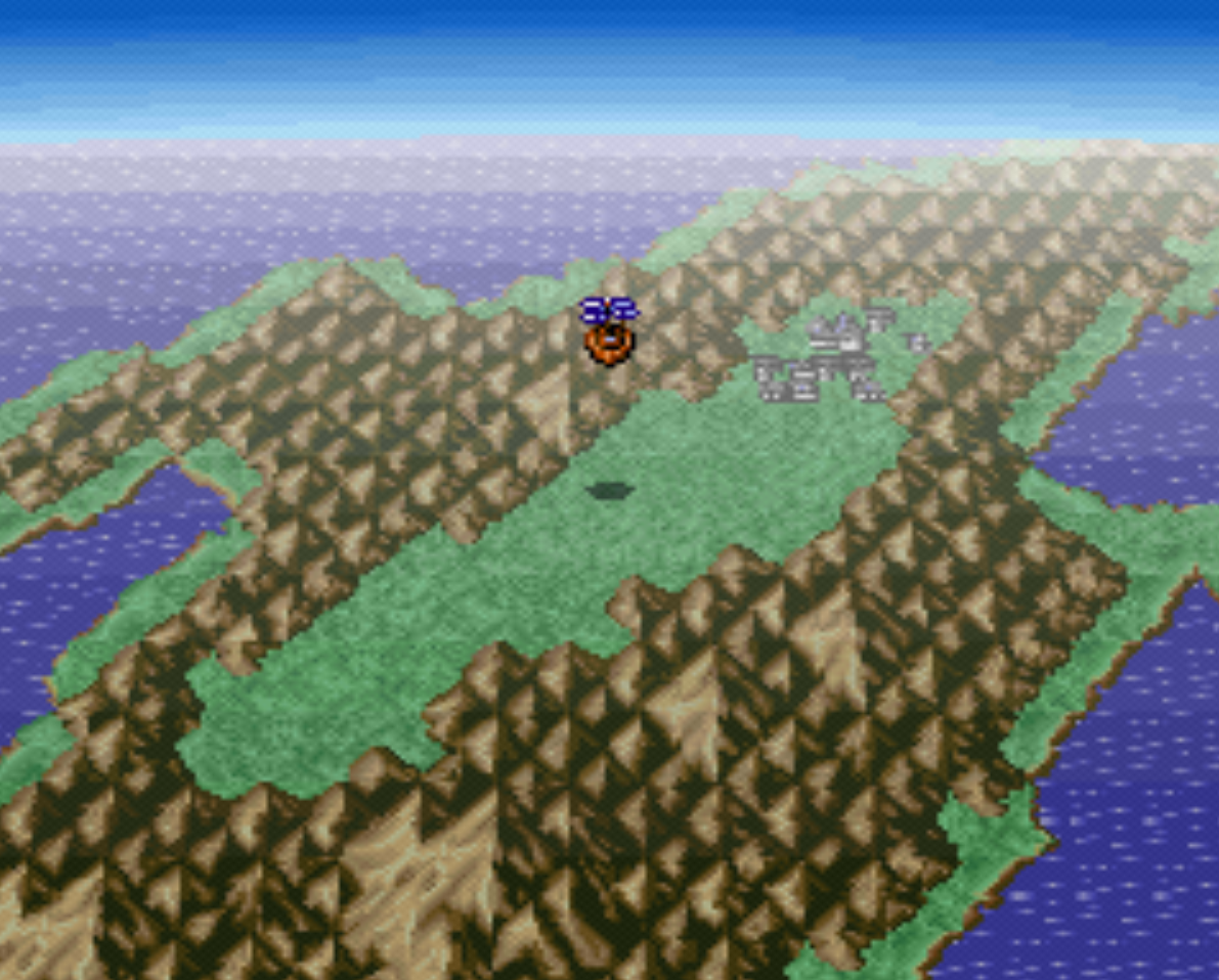 Town of Gaia Overworld Location