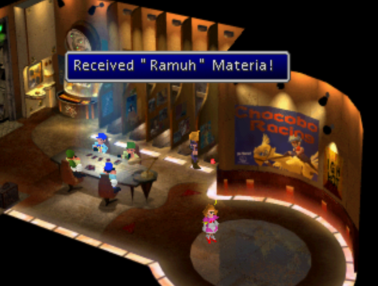 Ramuh Materia Received