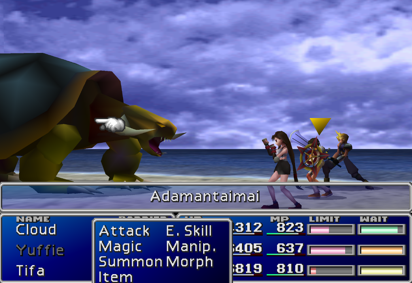Adamantaimai enemy FF7