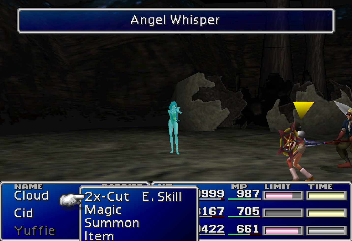 Angel Whisper Enemy Skill