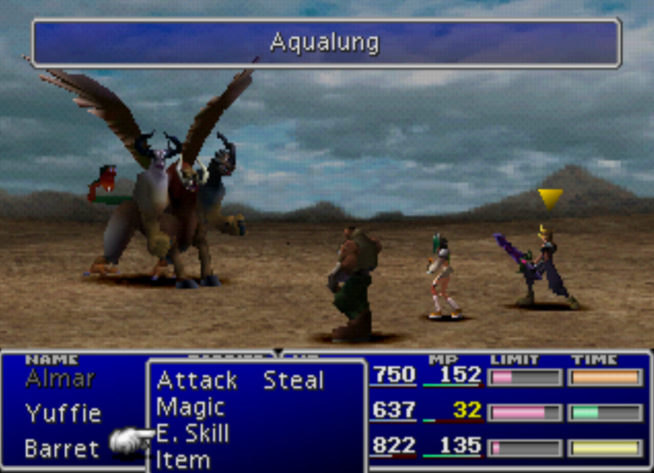 Aqualung Enemy Skill