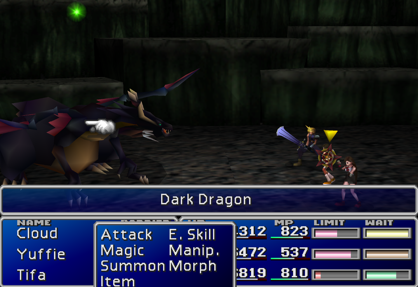 Dragon Force Enemy Skill