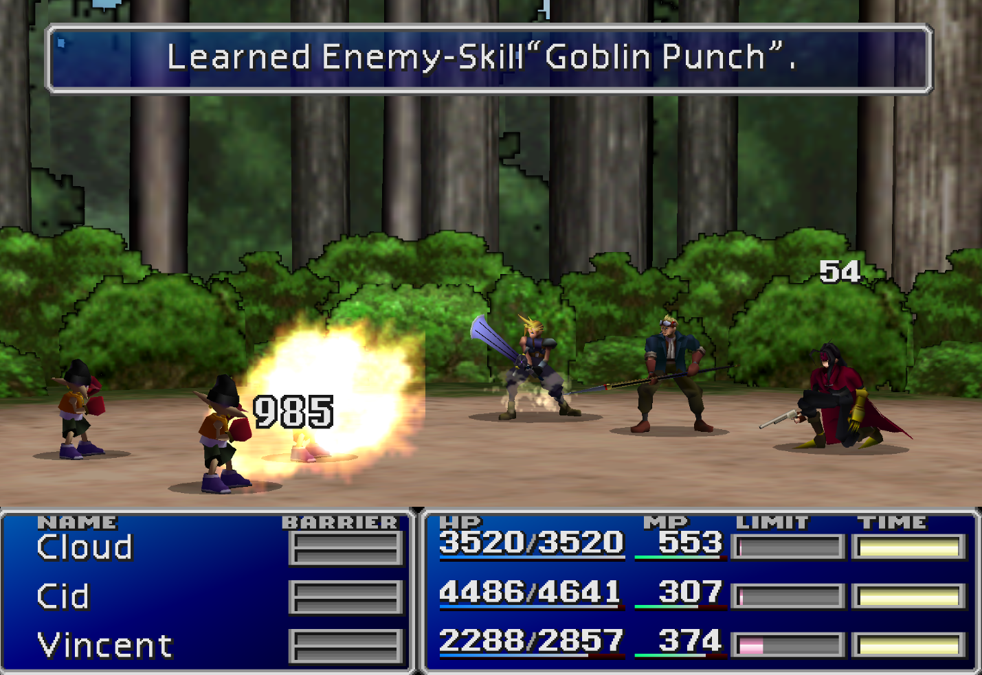 Goblin Punch Enemy Skill